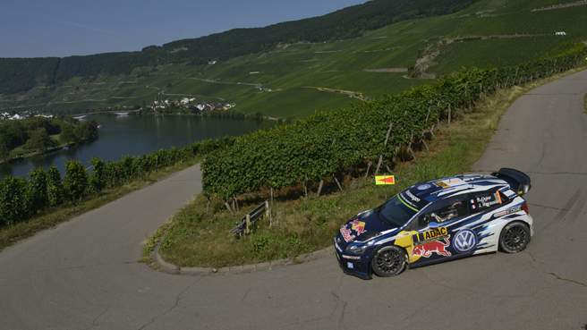 Germania, Ogier scappa