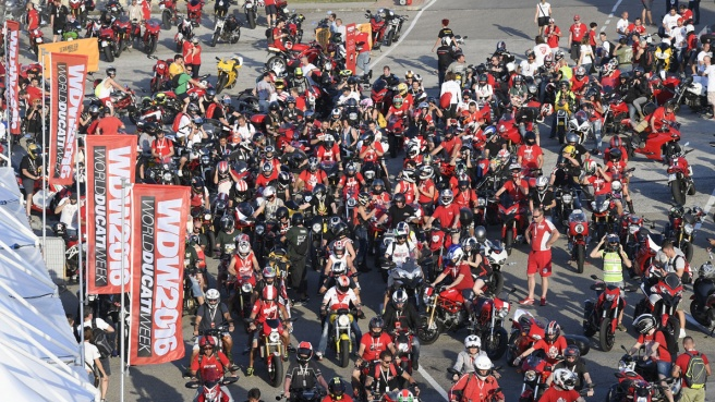 Ducati, weekend da record