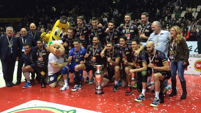Volley, Civitanova vince la Coppa Italia