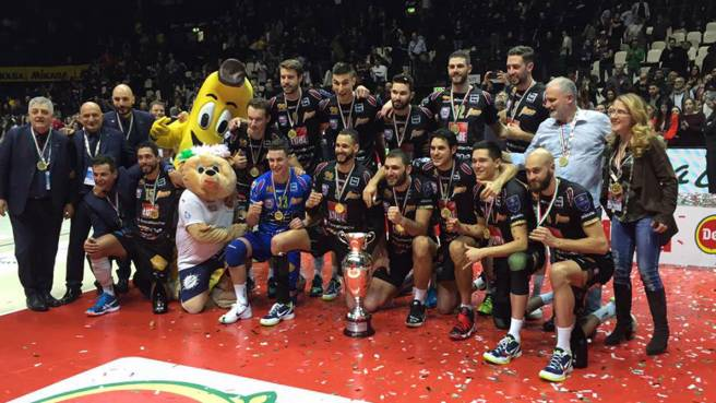 Civitanova, trionfo in Coppa Italia