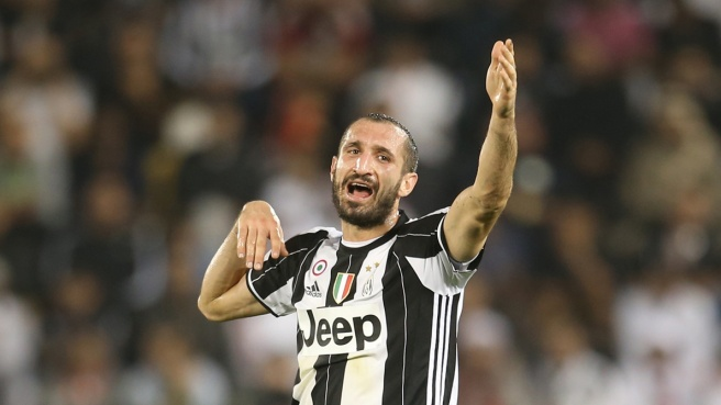 Juventus, infortunio Chiellini: