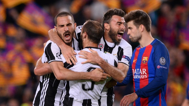 Pronostici Champions League: Over 1.5 ospite di Barcellona-Juventus a 2,78