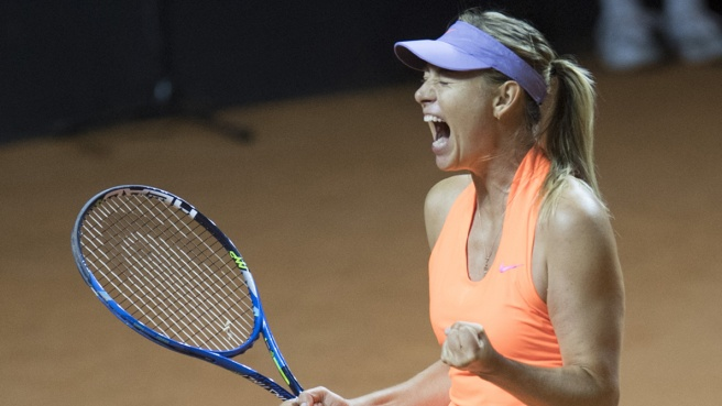 Tennis, Sharapova vincente a Stoccarda: