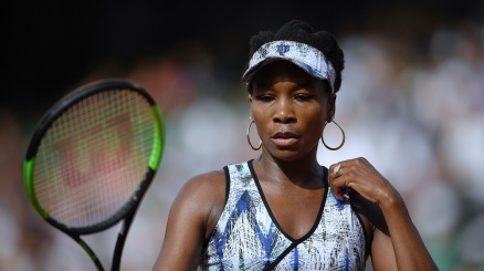 Venus Williams prova a cambiare
