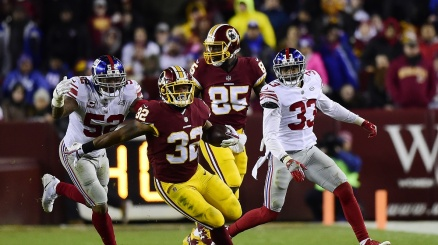 NFL, super Redskins nel Thanksgiving Day