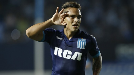 Il Racing: ''Lautaro Martinez-Inter, fatta al 90%''