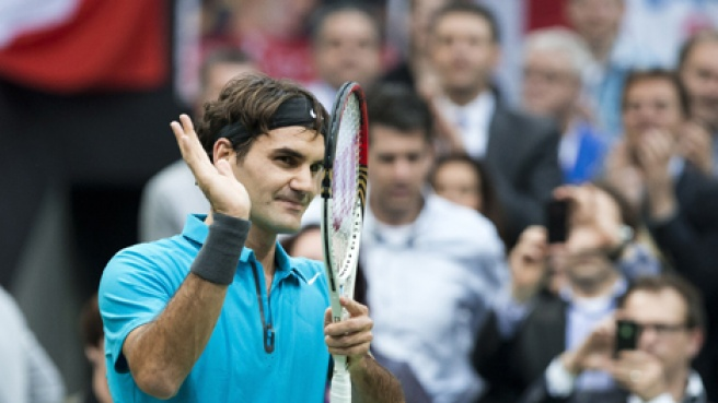 Indian Wells, Federer strapazza Chardy