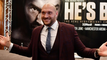 Tyson Fury torna sul ring