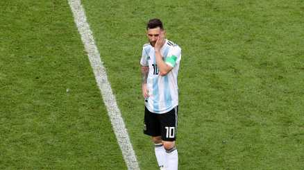 Messi mette in pausa l'Argentina