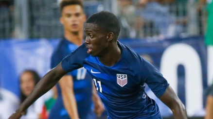 Timothy Weah si mette sul mercato