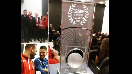 Basket Awards, premiata Aprilia