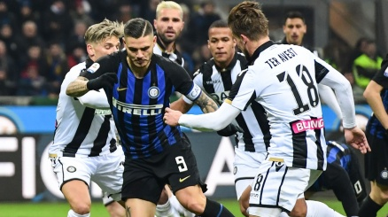 Inter-Udinese: pagelloide bianconero