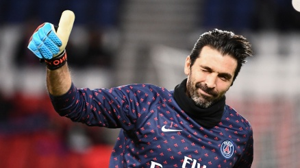 Gigi Buffon pensa all'addio al calcio