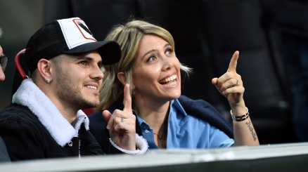 Wanda Nara torna a blindare Icardi all'Inter