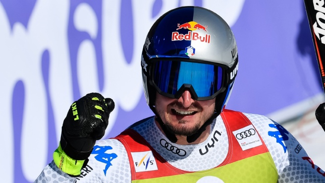 Dominik Paris trionfa: sua la coppa di SuperG