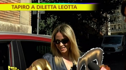 Diletta Leotta incassa due Tapiri