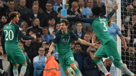Romanzo City-Tottenham: Spurs in semifinale