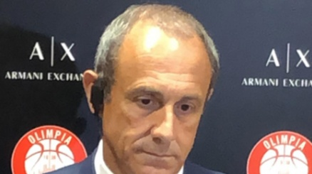 Ettore Messina lapidario in conferenza stampa