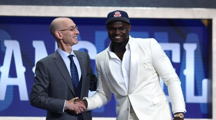 Draft NBA, la n.1 Zion va a New Orleans