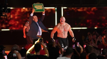 WWE Extreme Rules, brilla Brock Lesnar