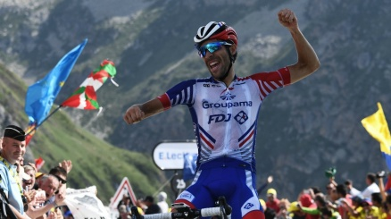 Tour: Pinot si prende il Tourmalet, ma Alaphilippe sorride