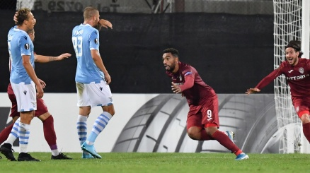 La Lazio parte male in Europa League