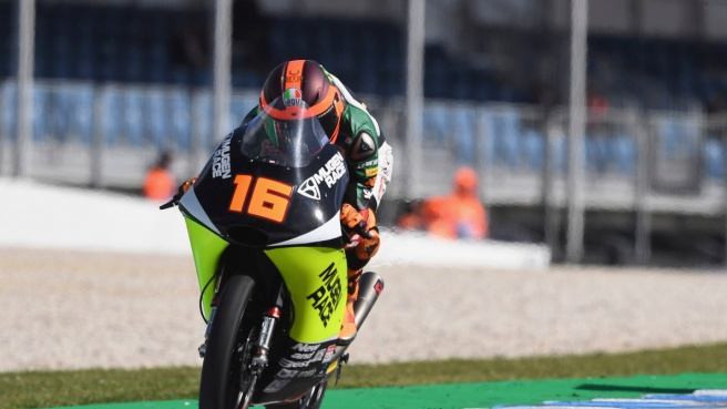Moto3, per Migno prima pole in carriera