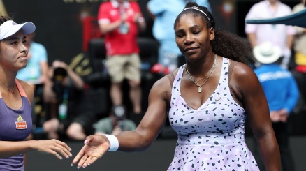 Australian Open, fuori Serena Williams