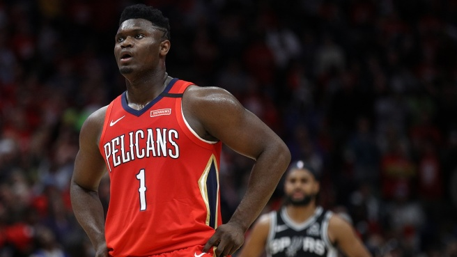 Zion Williamson NBA Pelicans New Orleans