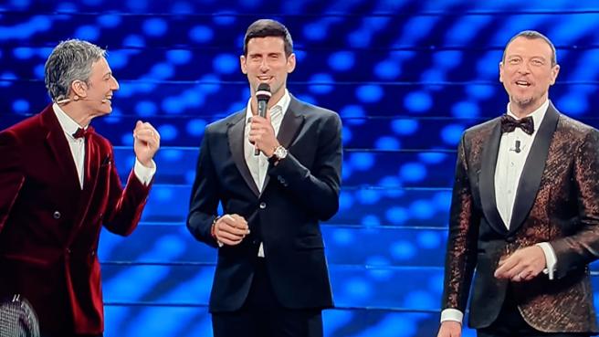 Djokovic a Sanremo