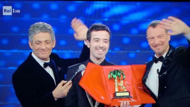 Sanremo, Diodato vince l'edizione 2020 del Festival