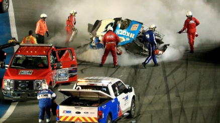 Daytona 500, grave incidente per Ryan Newman
