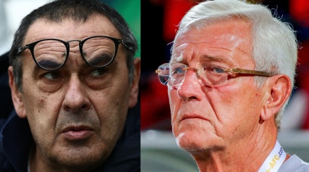 Marcello Lippi applaude la Juventus