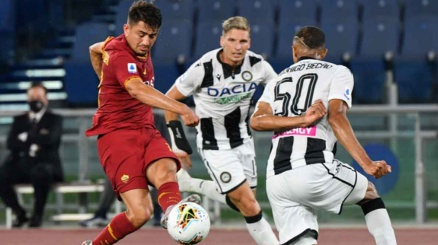 Colpo Udinese a Roma