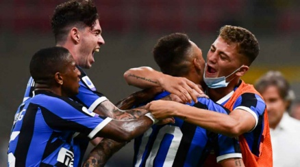 L'Inter vince in rimonta
