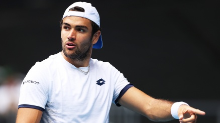 Matteo Berrettini delude all'Atp Cincinnati
