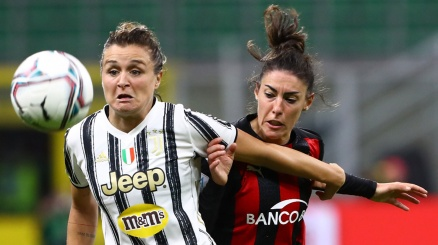 Donne: apre Hellas-Roma, supersfida Juve-Milan. Ecco le gare in Tv