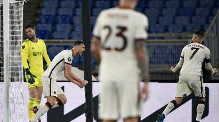 Europa League: Roma-Ajax 1-1, le foto