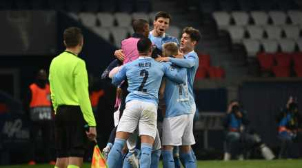 Paris Saint Germain-Manchester City 1-2, le foto