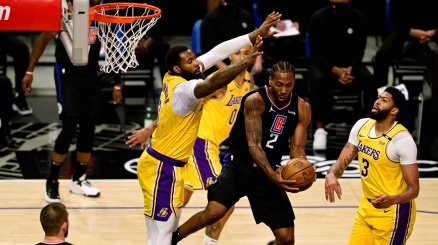 NBA, ai Clippers il derby