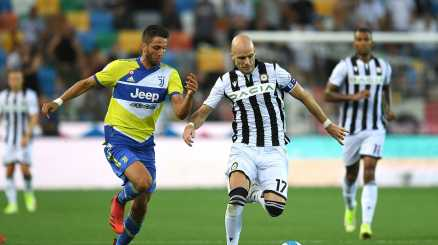 Udinese-Juventus 2-2, le pagelle